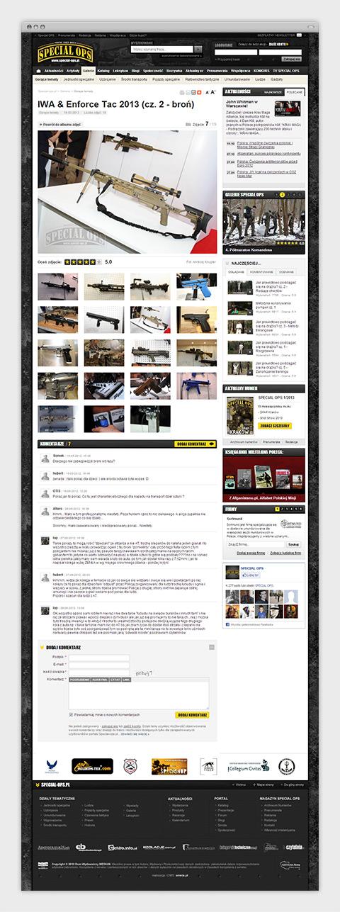 Special Ops - Portal Ludzi Akcji. Galeria zdjęć.